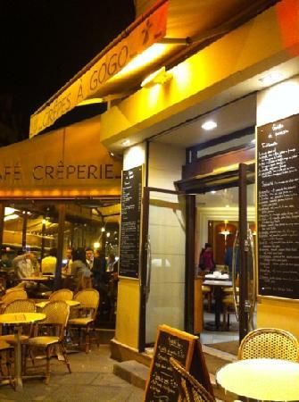 La Creperie : perfect place for a late night meal
