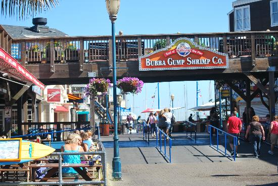 Bubba Gump Pier 39 San Francisco