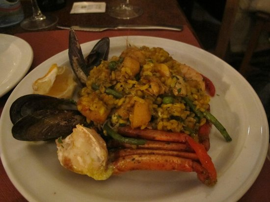 Petiti Celler Cas Carreter: Great Paella