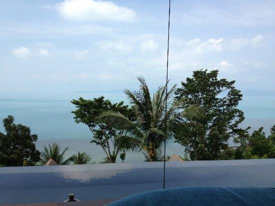 Four Seasons Resort Koh Samui Thailand: вид из ресепшна