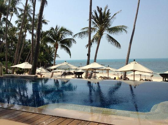 Four Seasons Resort Koh Samui Thailand: пляж