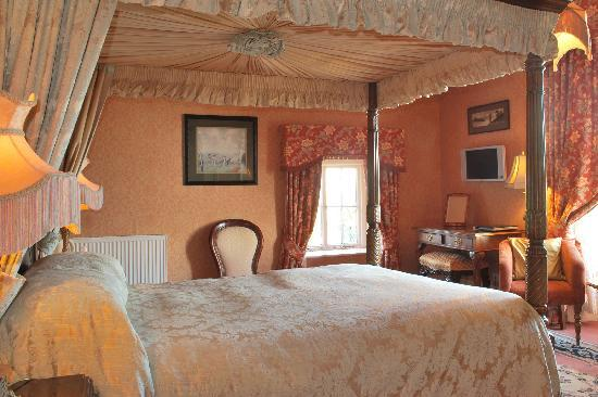 Lands of Loyal Hotel: a premier room with spectacular views over miles of open countryside