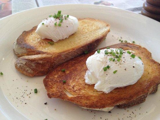 Soto Espresso: Poached Eggs