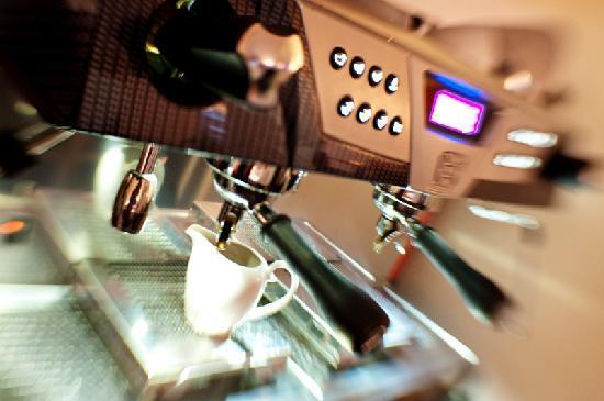 FEE-Die feine Essbar Eckernforde: Kaffeemaschine