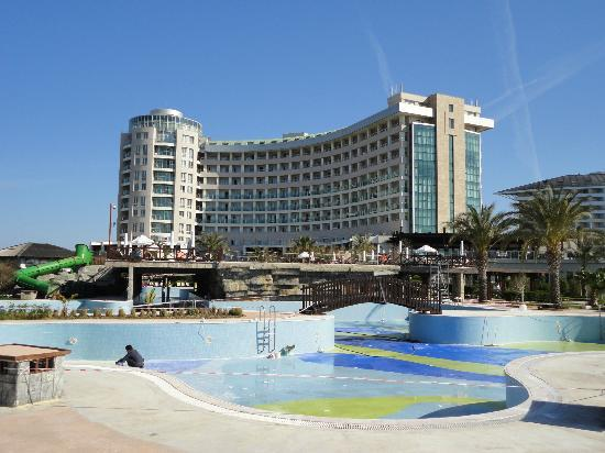 Sherwood Breezes Resort : View from the gardens