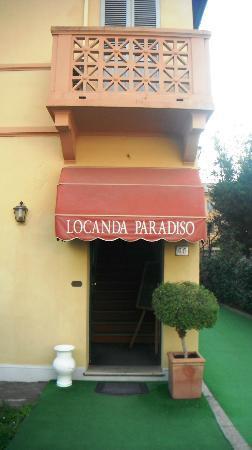 Locanda Paradiso: ingresso