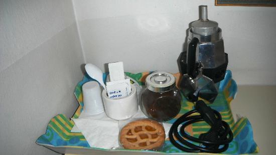 Locanda Paradiso: caffè e crostatine