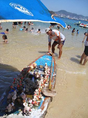 Isla La Roqueta: Shels art