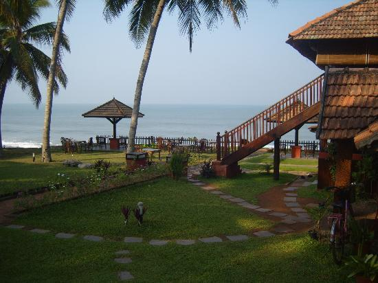 Blue Water Beach Resort: view from our cottage