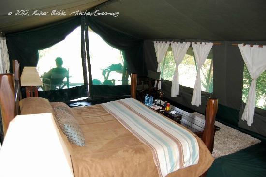 Entim Camp: Unser Zelt