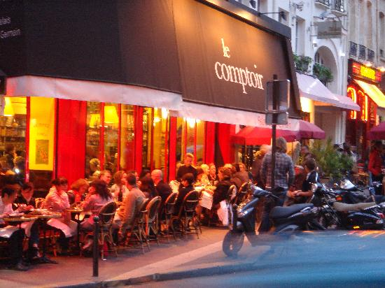 Le comptoir paris 37 rue berger saint germain des pr s - Le comptoir paris restaurant reservations ...