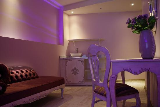 ArtDeco Istanbul Suites: Kitchenette
