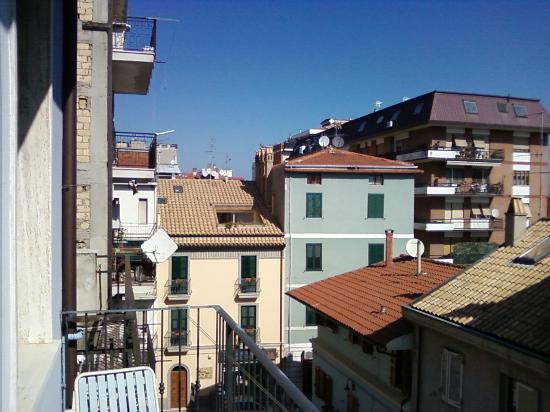 B&B Seven Rooms: The view from my window