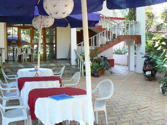Maria Paulo Guest House- Agonda : La cour