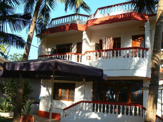 Maria Paulo Guest House- Agonda : Vue de la guest house côté plage