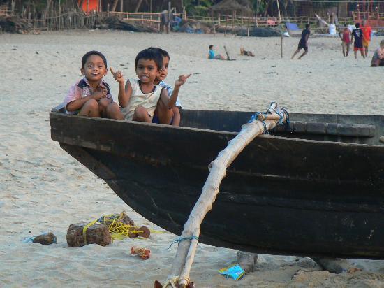 Maria Paulo Guest House- Agonda : Sur la plage