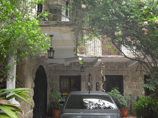 Hotel Casa Xochicalco: A la entrada