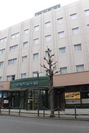 Hotel Sunroute Fukushima : hotel