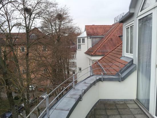 Domizil Tübingen: vista dalla terrazza