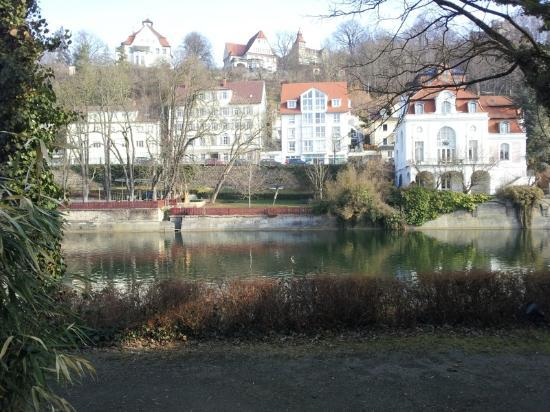 Domizil Tubingen: vista dalla hall