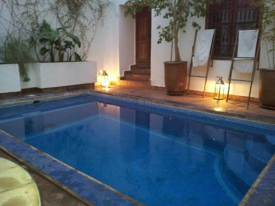 Riad l'Orangeraie: the pool