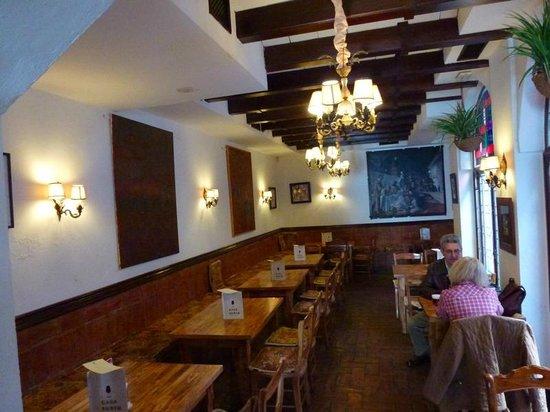 Casa Rubio : sala interna