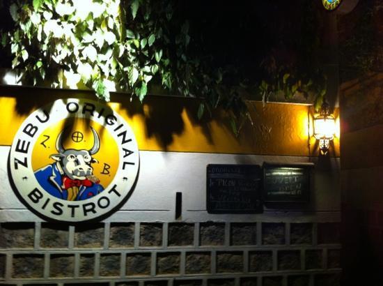 Zebu Original Bistrot: Eingang