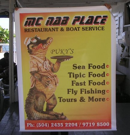 McNab Place Restaurant: McNab Place Jonesville Poatan, HN