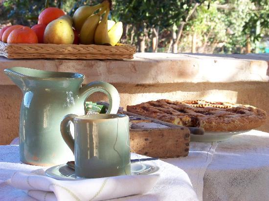 "Agritourism ""The Vineyard"" : colazione"