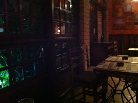 La Boussole Art Café : Inneneinrichtung