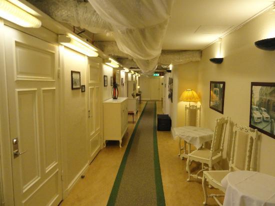 Jarnvagshotellet: Hotellkorridor