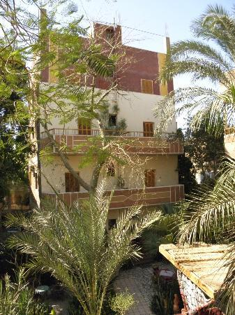 Amon Hotel Luxor: The hotel is made up three four-storey buildings round a courtyard, each with a roof terrace