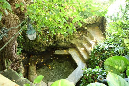 Couples Sans Souci: mineral grotto
