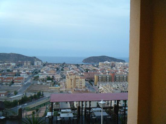 Hotel La Cumbre: view from inside room