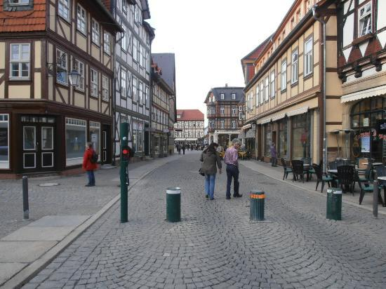 View from the front of Ringhotel Weisser Hirsch