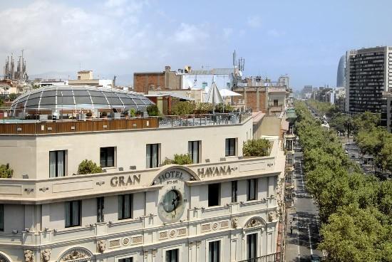 Silken Gran Hotel Havana: VISTA EXTERIOR HOTEL