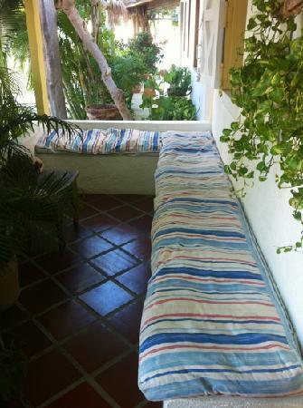 Posada Macondo: zona aperitivo,sigaretta,chiacchiere,relax