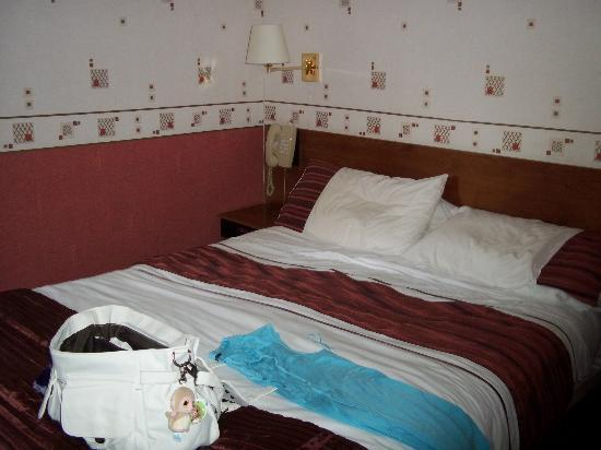 Willowbank Hotel: double bed