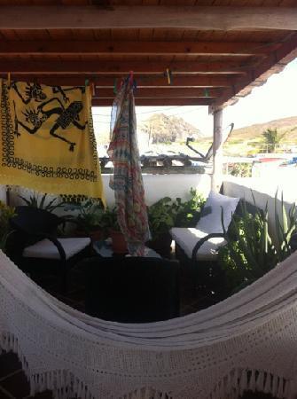 Posada Macondo: terrazza fitness,relax,stendipanni