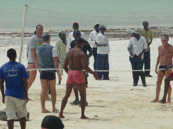 Diani Sea Resort: Beachvolleyball