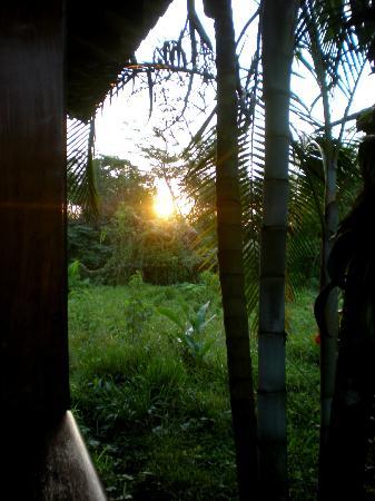 Hotel La Pradera: sunrise