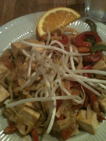 The Orchard: Indonesian Stir Fry with Rice Noodles and Tofu