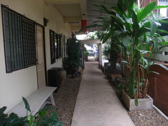 Wa Lai Guesthouse: Walai yard and the rooms