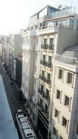 Luxx Boutigue Hotel: view from the window , room on the 6 th floor