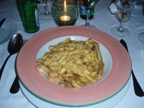 Dona Amelia Restaurant : Паста с лобстером