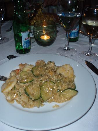 Dona Amelia Restaurant : Ризотто с морепродуктами