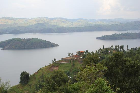 Virunga Lodge: View from our room