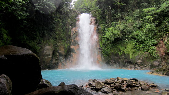 ‪‪Tenorio Volcano National Park‬, كوستاريكا: waterfall‬