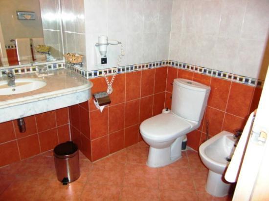 Hotel Menzeh Dalia : Toilette