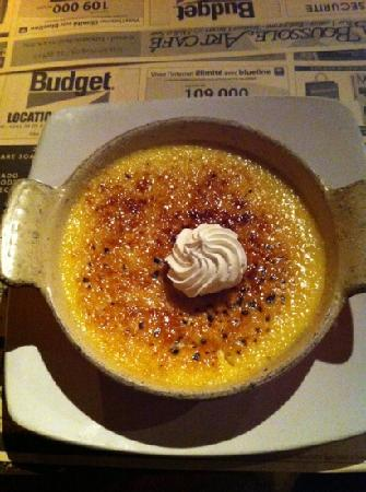 La Boussole Art Café : Creme Brûlée